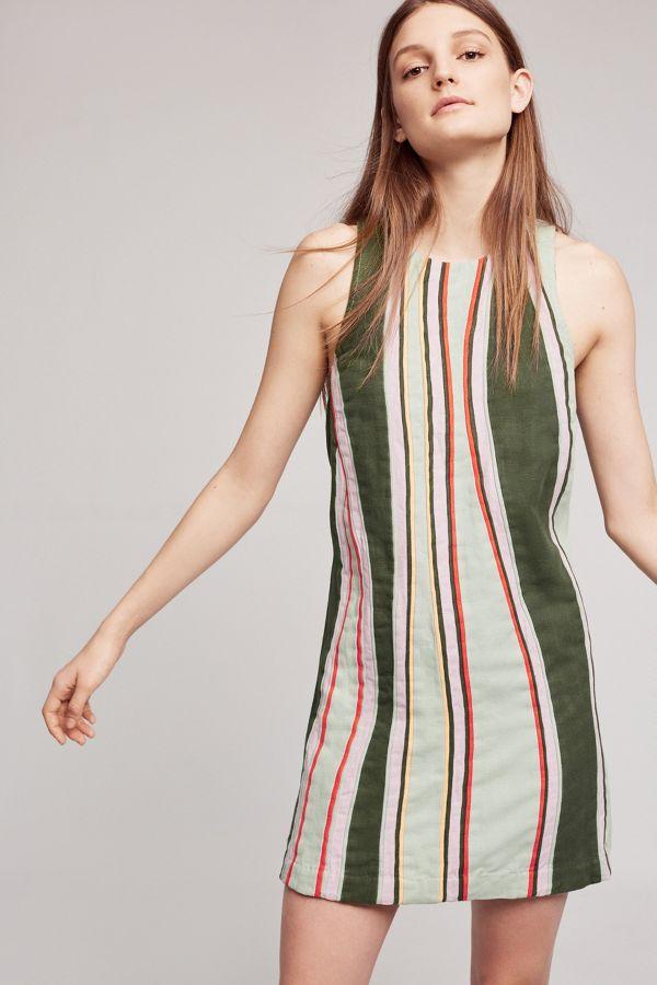 Maeve Striped Sheath Dress
