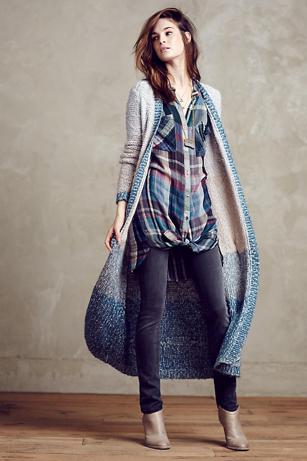 Slide View: 6: Mixed Plaid Tunic