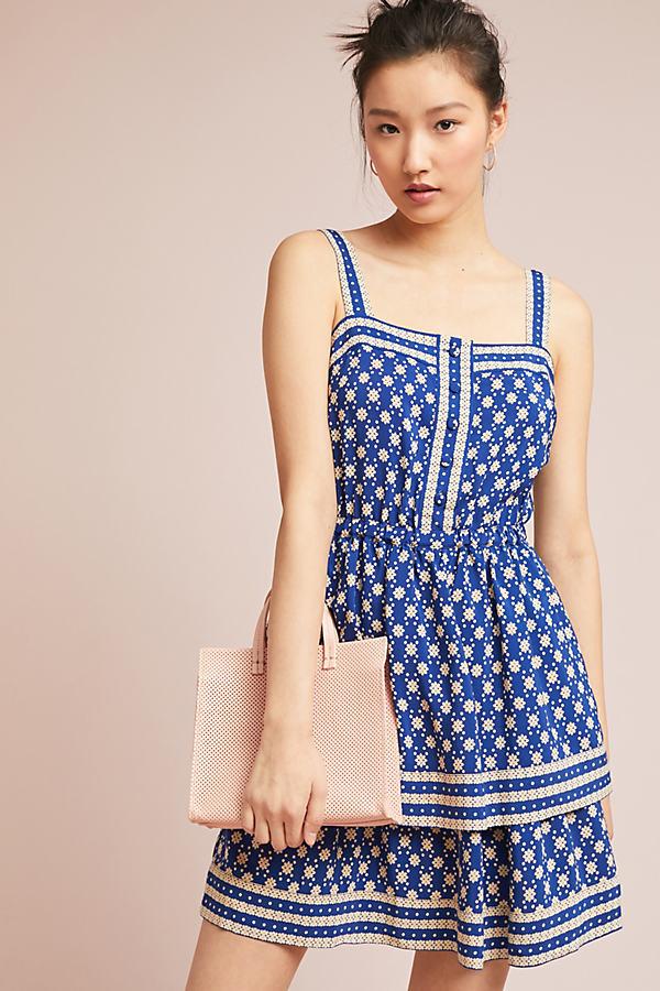 Jakara Printed Dress - Blue