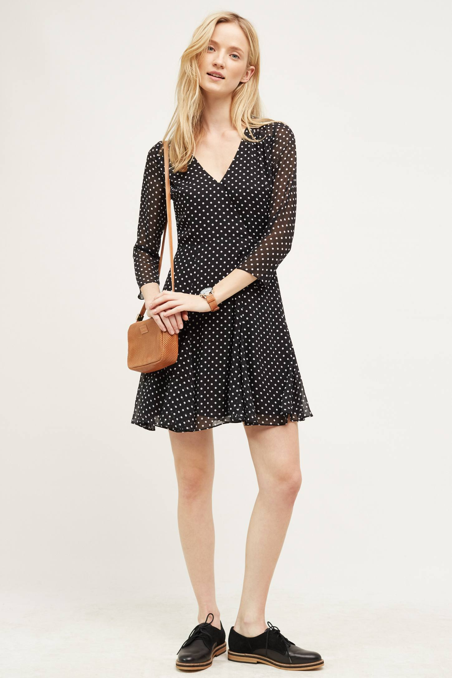 Stippled Dress