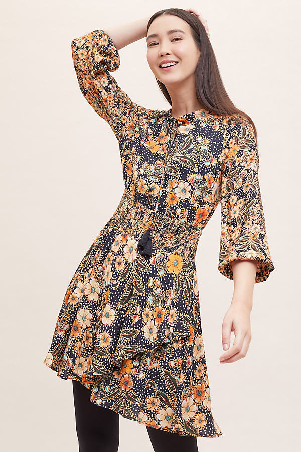 Dalia Printed Dress - Assorted, Size Xl