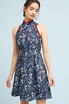 Slide View: 1: Brooklyn Jacquard Dress
