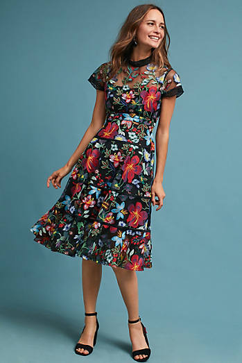 Janine Embroidered Dress