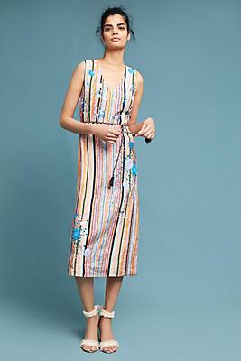Slide View: 1: Painterly Maxi Dress