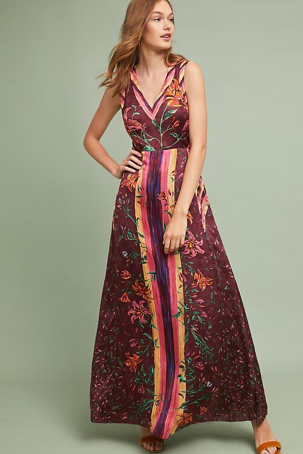 Gala Maxi Dress - Assorted, Size Uk 6