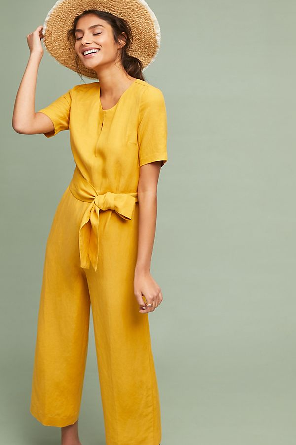 Slide View: 1: Hermosa Waisted Jumpsuit