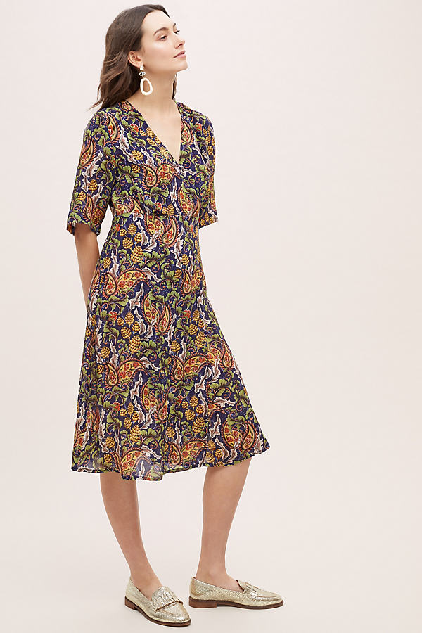 Kayori Printed Dress - Assorted, Size Uk 6
