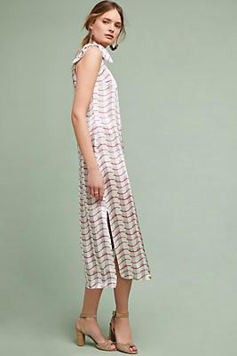 Slide View: 1: June Silk Slip Dress