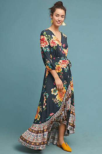 Farm Rio Majorca Wrap Dress