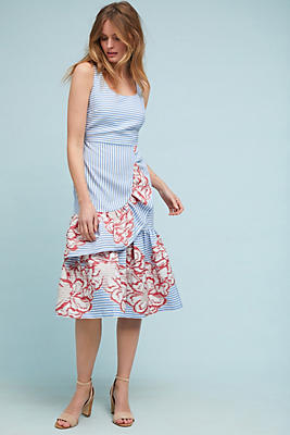 Slide View: 1: Cayce Midi Dress