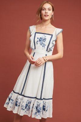 f35f3d46fe3 Farm Rio Galatea Embroidered Dress  250
