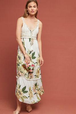 Farm Rio Protea Dress by Farm Rio For Anthropologie