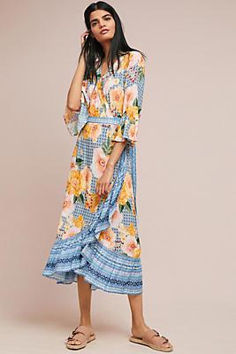 Slide View: 1: Farm Rio Camila Wrap Dress