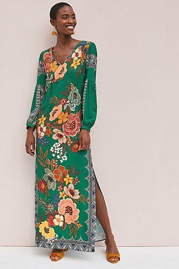 Farm Rio Verdor Maxi Dress