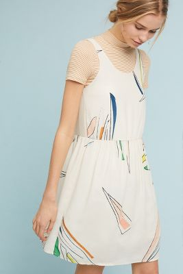 Eve Gravel   Amour Imaginaire Dress  -    NEUTRAL MOTIF
