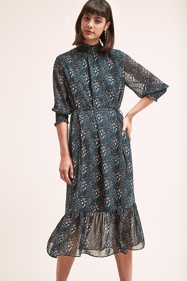 Davina Printed-Midi Dress - Assorted, Size Uk 14