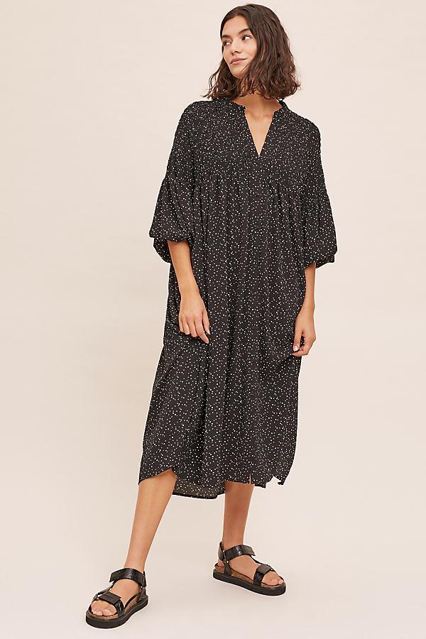 Hanna Smock Midi Dress