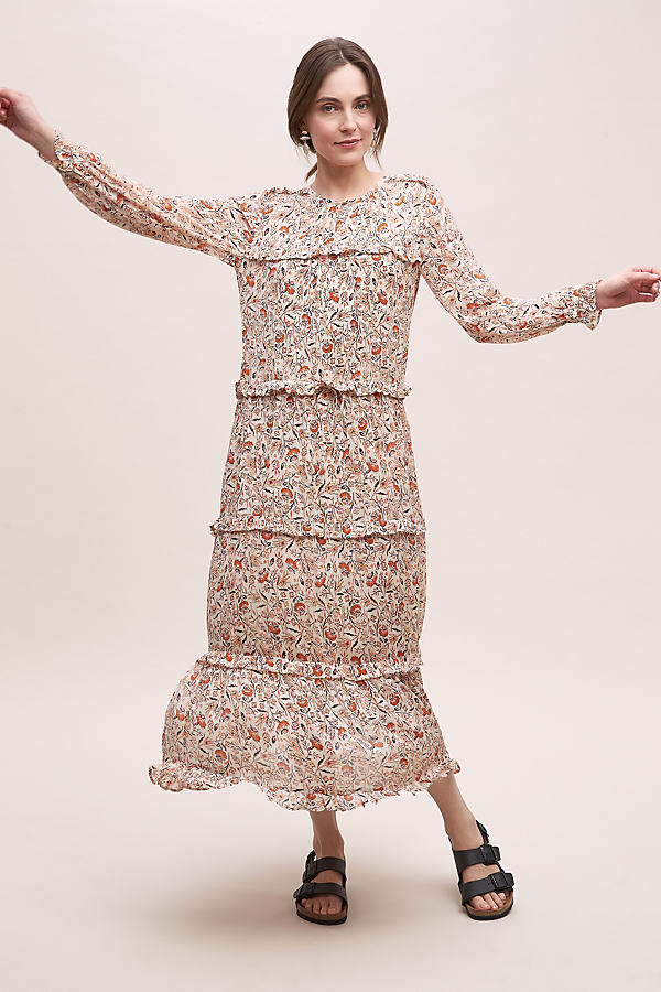 Moliin Teona Floral-Print Dress