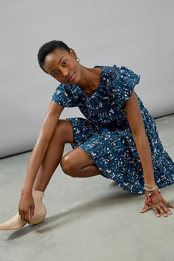 Othilia Dessa Ruffled Mini Dress