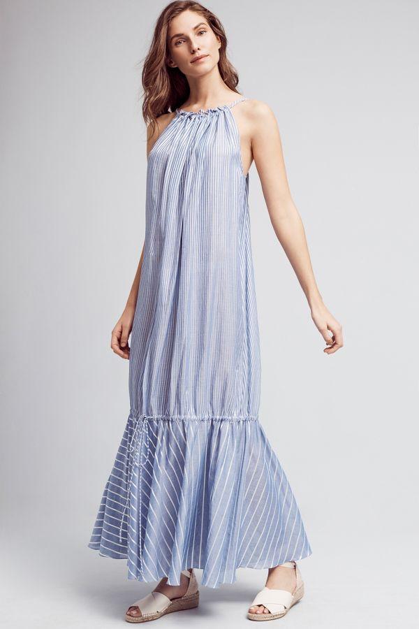 Three Graces London Cassius Maxi Dress
