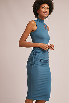 Slide View: 1: Michael Stars Knit Midi Dress
