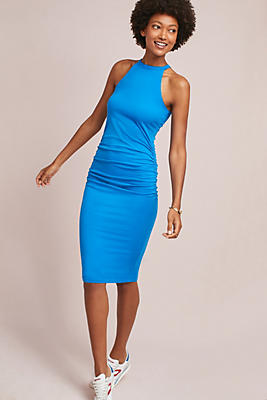 Slide View: 1: Michael Stars Halter Knit Dress