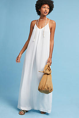 Slide View: 1: Michael Stars V-Neck Maxi Dress