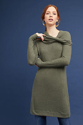 Slide View: 1: Michael Stars Off-The-Shoulder Tunic Dress