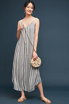 Slide View: 1: Michael Stars Striped Maxi Dress