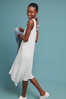 Slide View: 1: Michael Stars Cross-Back Dress