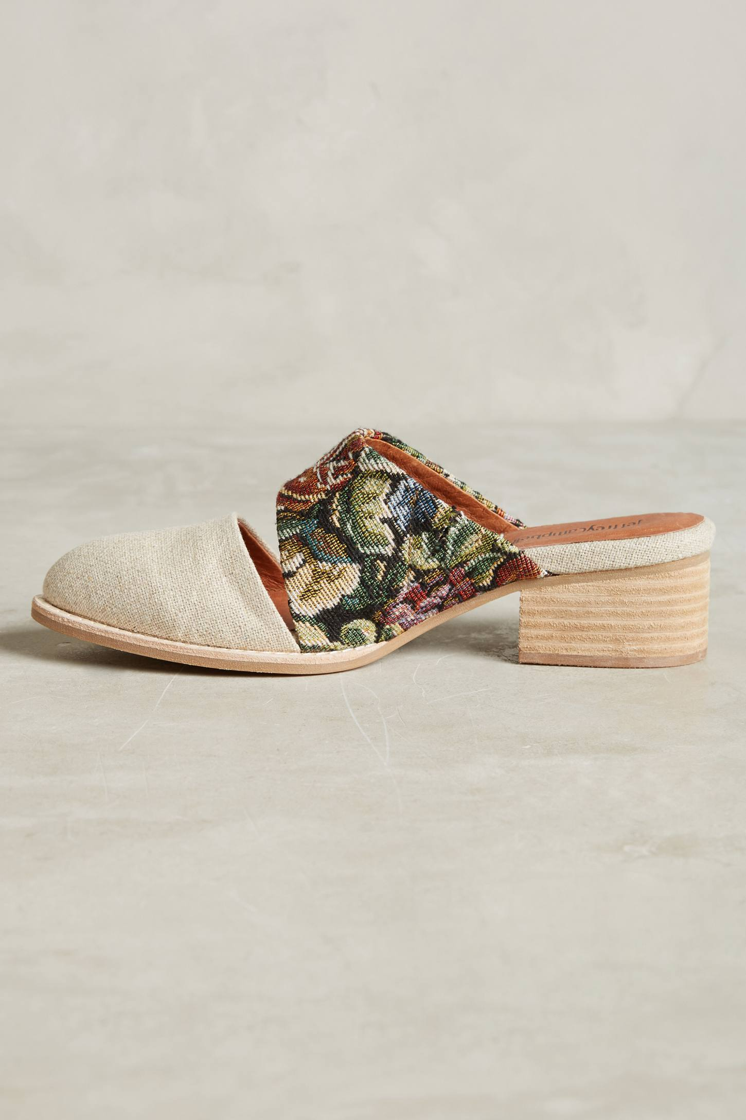 Slide View: 5: Jeffrey Campbell Tapestry Mules