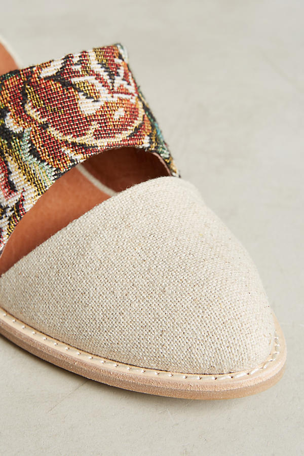 Slide View: 3: Jeffrey Campbell Tapestry Mules