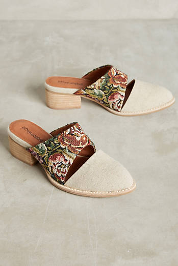 Jeffrey Campbell Tapestry Mules
