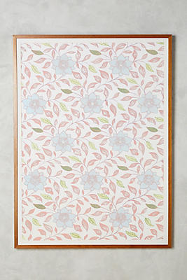 Slide View: 1: Transitional Floral Wall Art