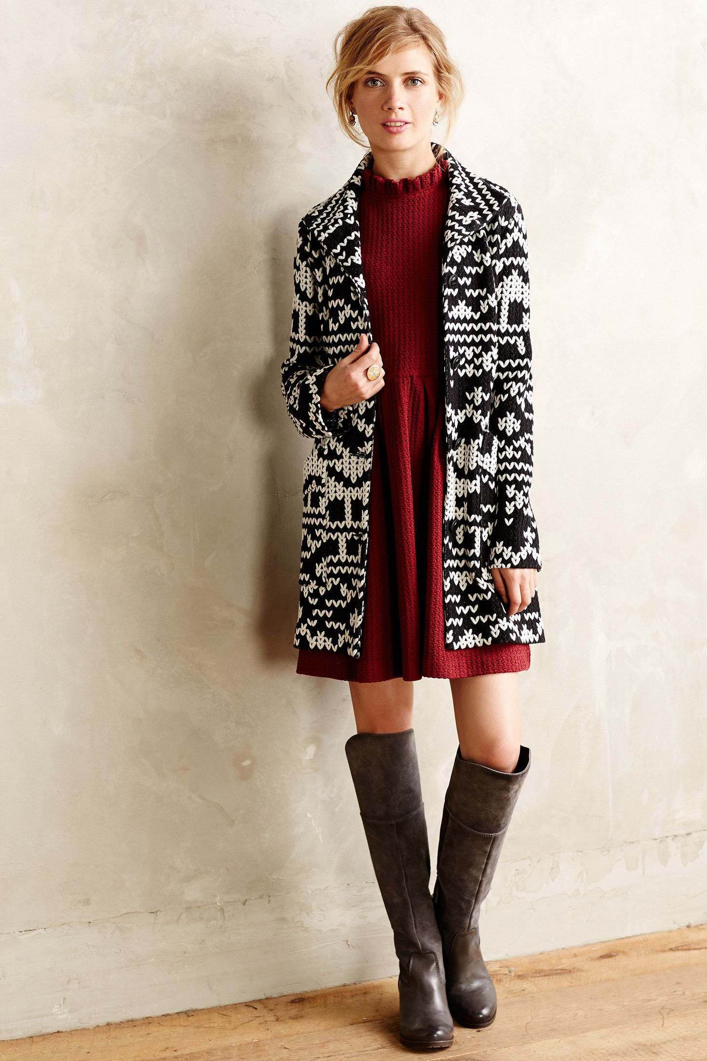 Fairisle Sweater Jacket | Anthropologie