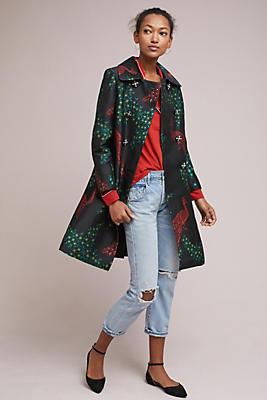 Slide View: 1: Peacock Tailored Coat