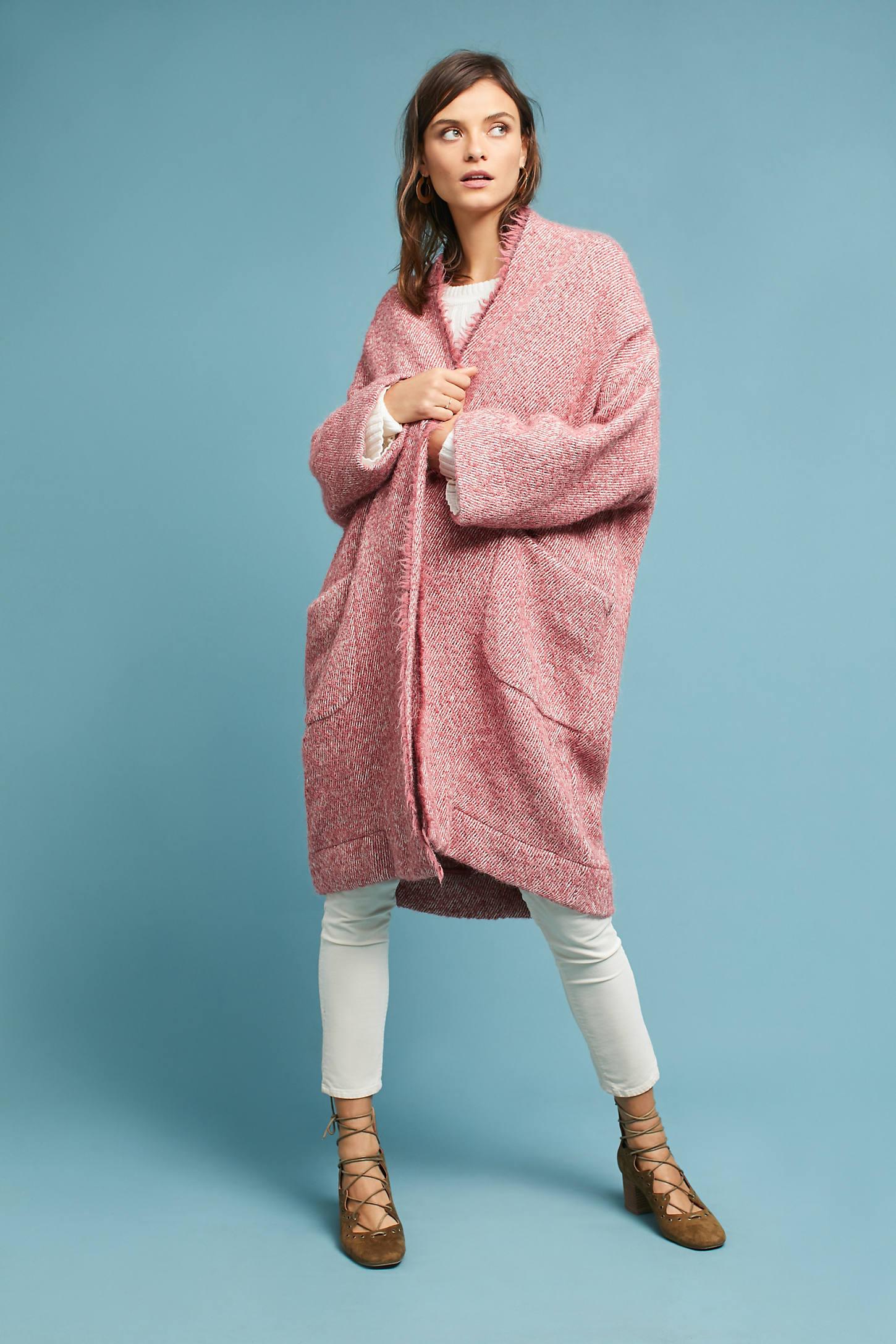 Moonlight Oversized Sweater Coat