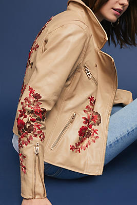 Slide View: 1: Wildflower Moto Jacket