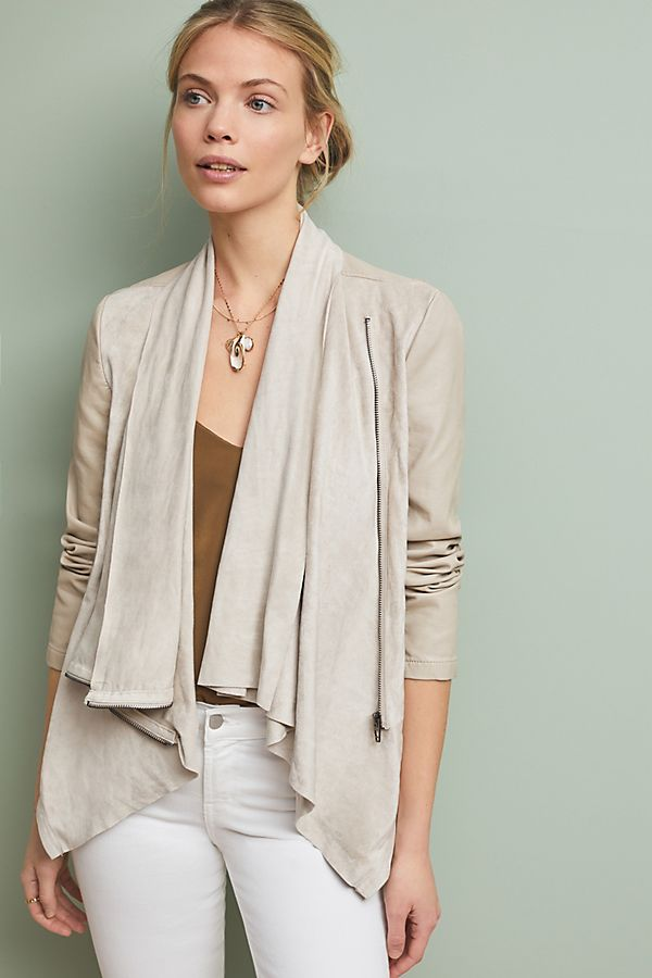 Slide View: 1: Odyssey Draped Coat