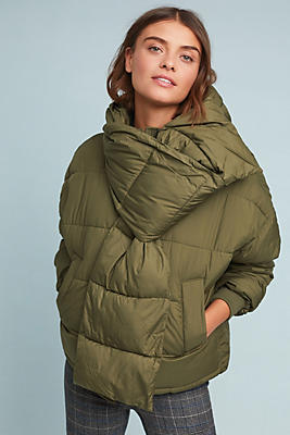 Slide View: 1: Cayuga Puffer Jacket