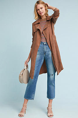 Slide View: 1: Carrie Trench Coat