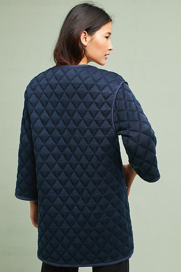 Shelly Quilted Car Coat | Anthropologie