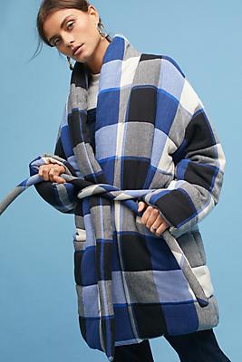 Slide View: 1: Mara Hoffman Willa Quilted Coat
