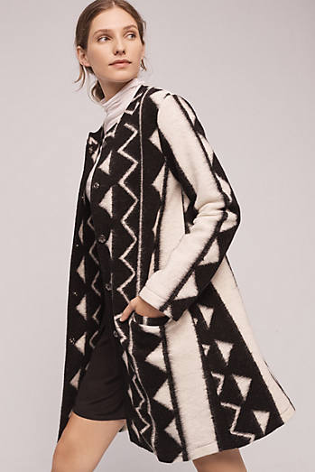 Graphic Deadre Coat