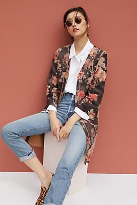 Slide View: 1: Marcela Floral Jacket