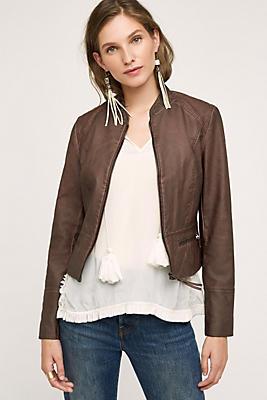 Dara Vegan Leather Jacket