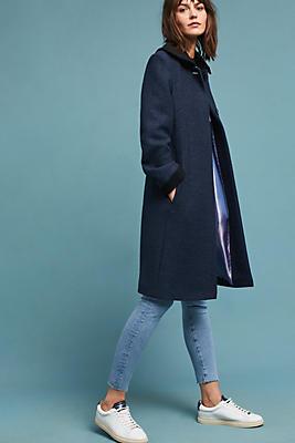 Slide View: 1: Classic Collared Coat