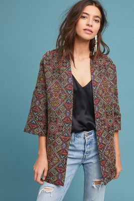 Tapestry Kimono Jacket by Helene Berman London