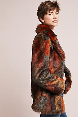 Stevie Faux Fur Coat | Anthropologie