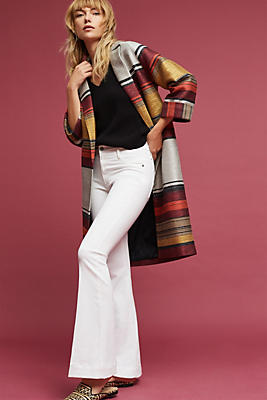 Slide View: 1: Andora Striped Coat